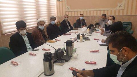 اولین جلسه کمیته مناسب سازی شهرستان کهک برگزار شد