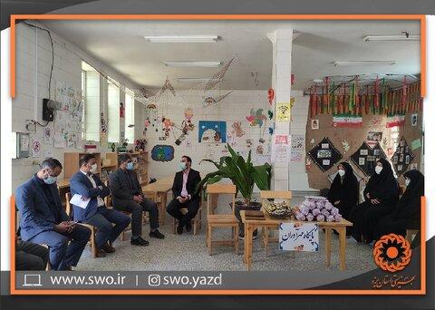 مهریز | طرح (مانا)؛ مشارکت اجتماعی نوجوانان ایران با هدف ارتقای توانمندی ها و مشارکت دانش آموزان