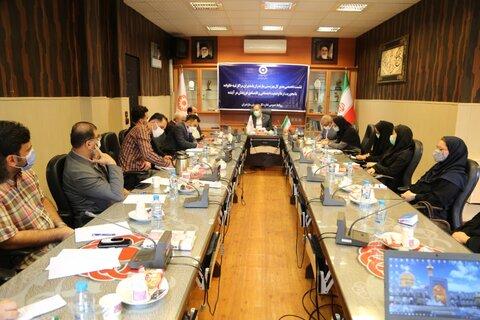 نشست تخصصی مدیرکل بهزیستی مازندران با مدیران مراکز شبه خانواده