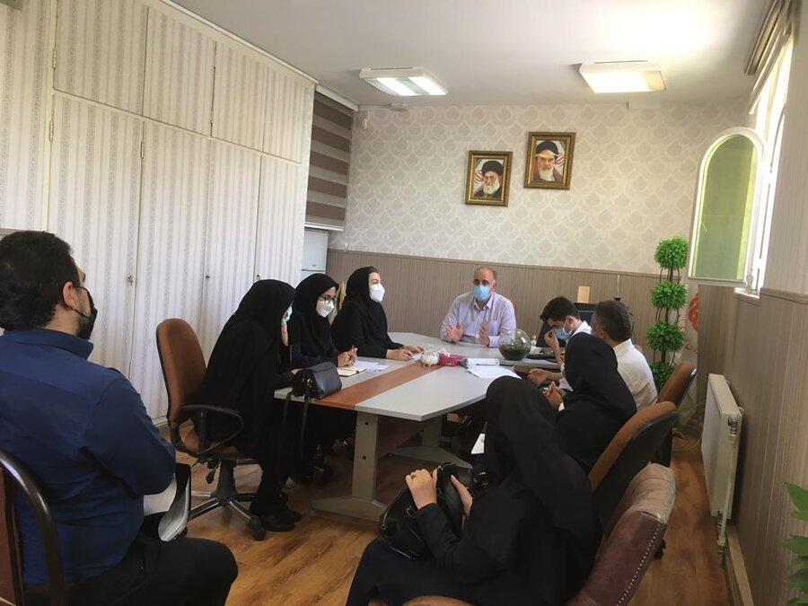 پاکدشت| جلسه بررسی عملکرد مراکز مثبت زندگی درشهرستان