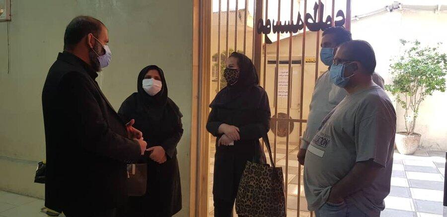 شهرقدس  بازدید از مراکز اقامتی ترک اعتیاد تحت نظارت بهزیستی
