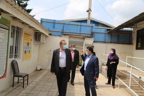 بازدید مدیرکل بهزیستی مازندران از مرکز مثبت زندگی گنج افروز شهرستان بابل