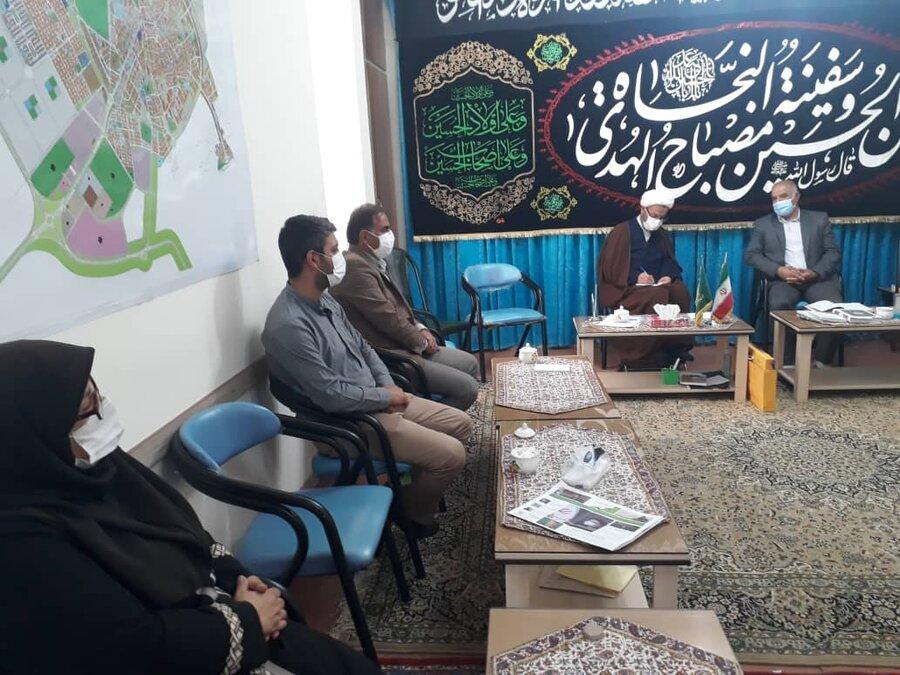 دامغان | دیدار رئیس اداره بهزیستی با امام جمعه شهرستان