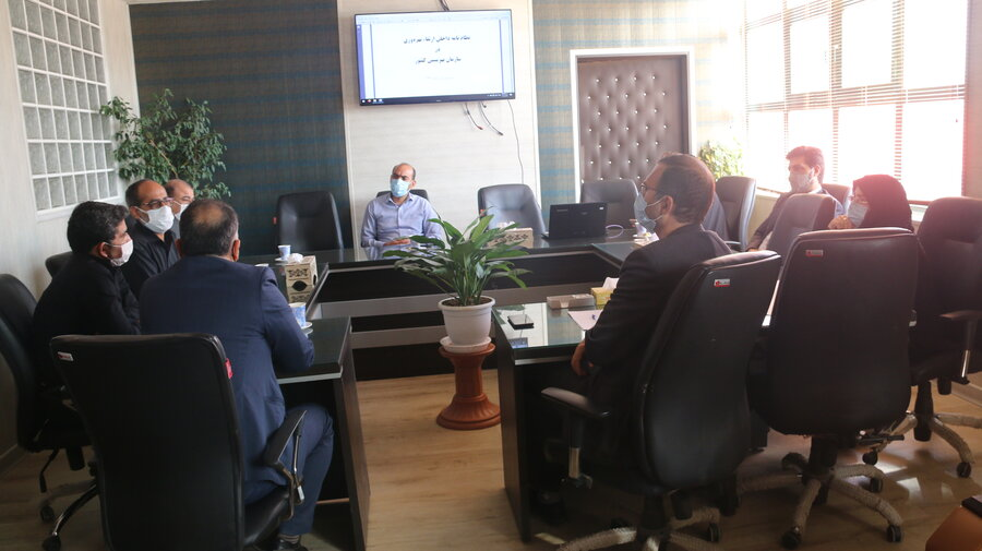تشکیل جلسه کمیته بهره وری ، تمرکززدایی و مردمی سازی خدمات بهزیستی