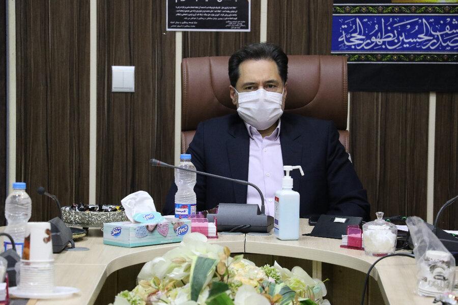 نشست مدیرکل بهزیستی استان گیلان با نمایندگان مراکز مثبت زندگی