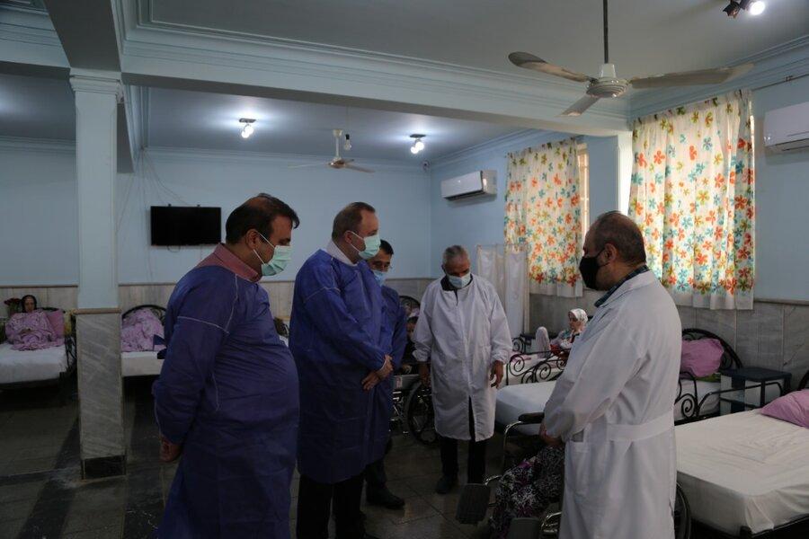 بازدید مدیرکل بهزیستی مازندران از مرکز توانبخشی باب الحوائج شهرستان بابل