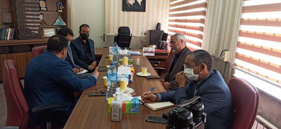 اسلامشهر  نشست هم اندیشی رئیس بهزیستی با اعضای شورای اسلامی شهر
