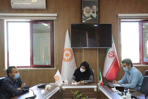 نشست مشترک بهزیستی آذربایجان غربی با اداره کل راه و شهرسازی استان