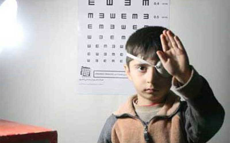 طرح غربالگری بینایی کودکان ۳ تا ۶ سال ایجرودی آغاز شد