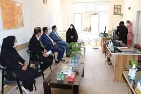 گزارش تصویری/ بازدید فرماندار اسکو از مراکز مثبت زندگی