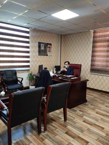 ملاقات مردمی مدیرکل بهزیستی البرز