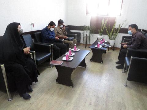 نشست هم اندیشی گروه های جهادی مدیریت بهزیستی شهرستان بوشهر با مسئولین سپاه و بسیج برگزار شد