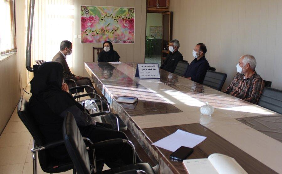 فریدن  برگزاری جلسه شورای مشارکتهای مردمی