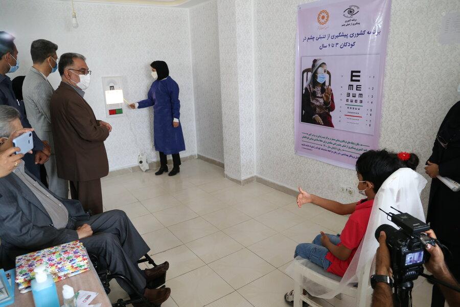 برنامه کشوری پیشگیری از تنبلی چشم