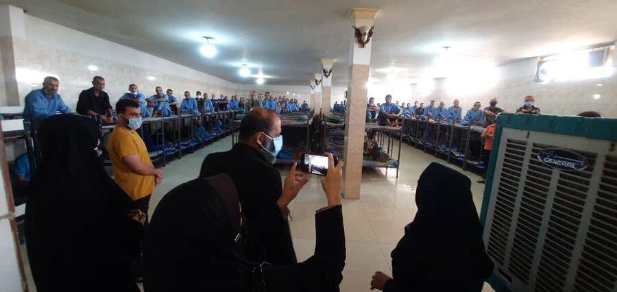 شهرقدس| بازدید سرزده رییس بهزیستی شهرستان از مرکز اقامتی طلوع سبز رهایی