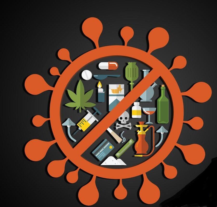جوانان باور نکنند؛ شایعه درمان کرونا به وسیله مواد مخدر، مبنای علمی ندارد