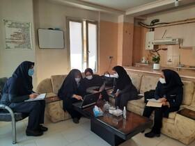 فیروزکوه| بازدید حضوری از مراکز مثبت زندگی
