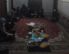 فیروزکوه| سوگواری دختران نیلوفر در رثای اهل بیت