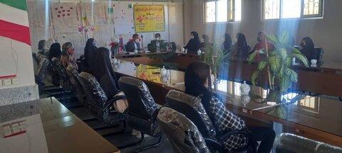 فیروزکوه| برگزاری آئین پایانی طرح ملی مشارکت اجتماعی نوجوانان