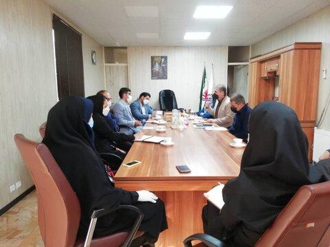 شهریار| نشست مشترک روسای بهزیستی و کمیته امداد با مسئولان مراکز مشاوره