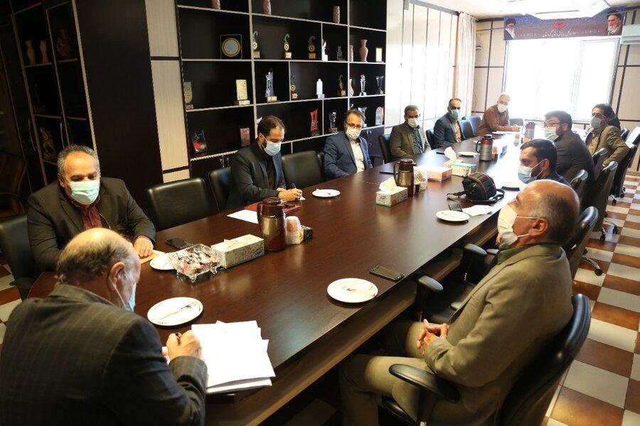 ترویج اقامه نمازبا استفاده از ظرفیت فضای مجازی /جلسه شورای اقامه نماز بهزیستی کردستان برگزار شد