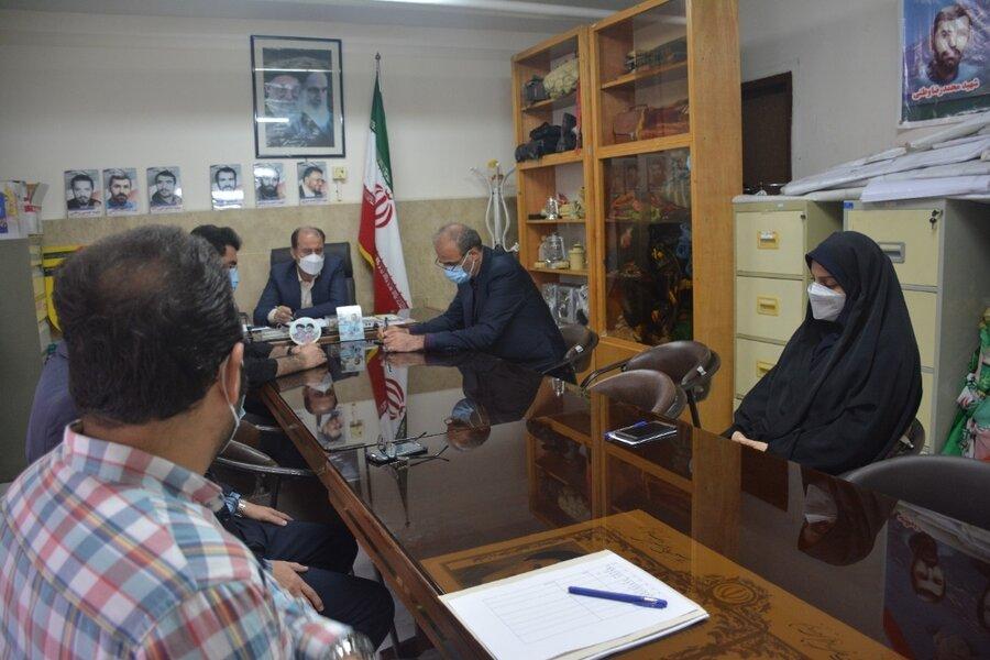 جلسه هماهنگی ستاد هفته دفاع مقدس بهزیستی مازندران برگزار شد
