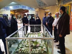 گزارش تصویری/ گرامی داشت روز شعر و ادب فارسی استاد شهریار