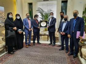 گزارش تصویری | دیدار مدیرکل و معاونین بهزیستی خراسان رضوی با شهردار مشهد