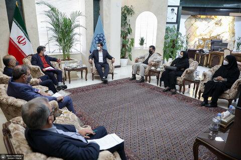 دیدار با شهردار مشهد