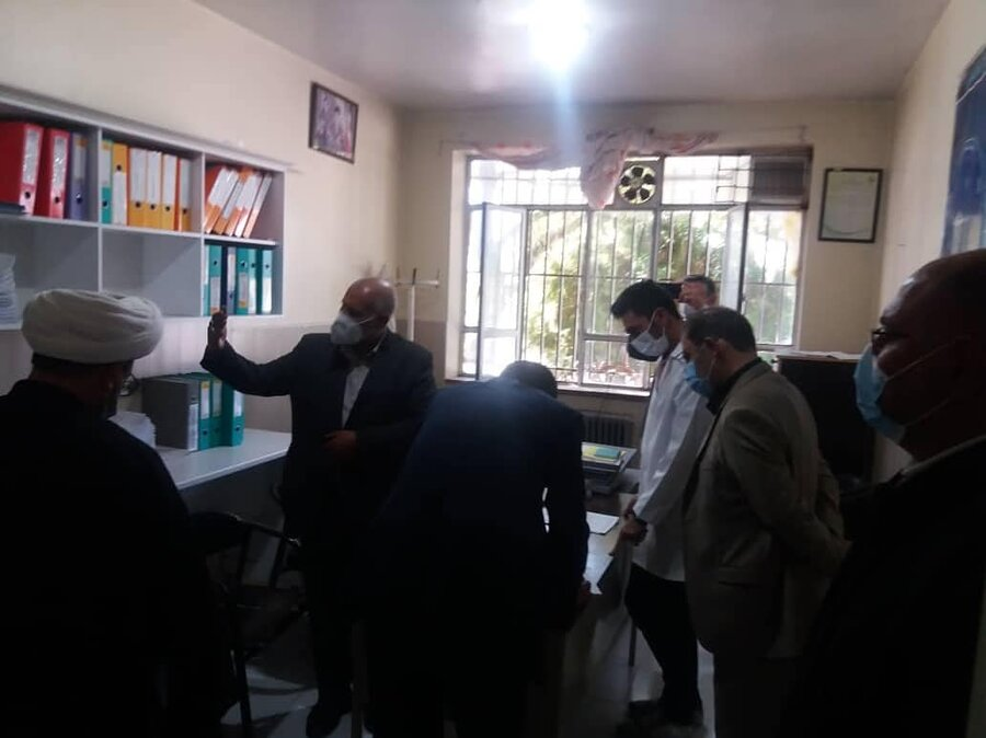 بازدید دادستان ارومیه از مراکز نگهداری و اقامتی بازتوانی معتادین تحت پوشش بهزیستی آذربایجان غربی