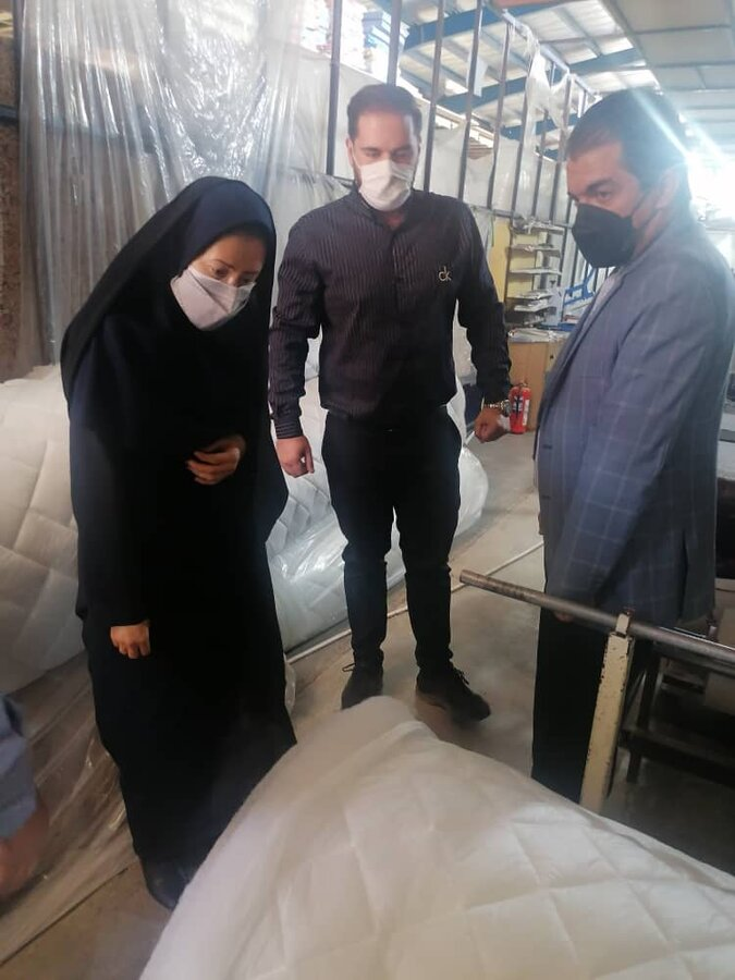 گزارش تصویری   بازدید از طرح کارفرمایی در شهرک صنعتی شیراز