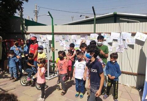 کرج   استقبال از مهر با جشنواره نقاشی بهزیستی در حاشیه کرج