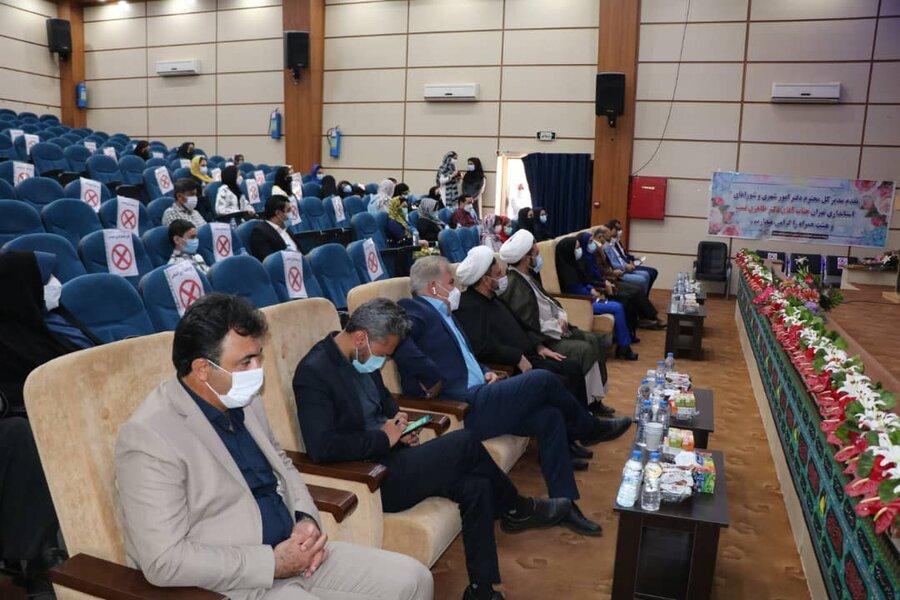 اختتامیه طرح مشارکت اجتماعی نوجوانان در نصیرشهر