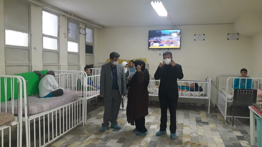 شمیرانات | بازدید مدیر بهزیستی شهرستان از مرکز دخترانه امام علی(ع)