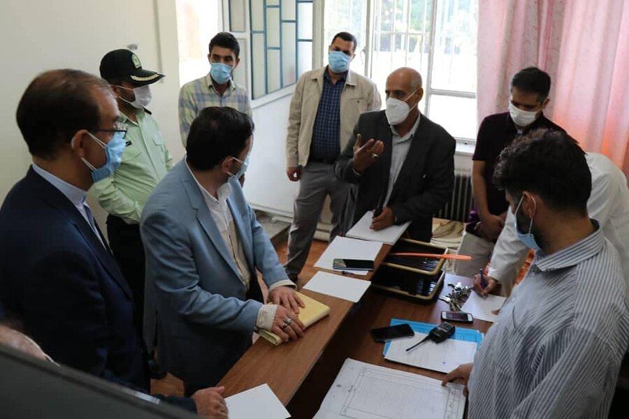 بازدید نماینده حوزه معاونت دادستان کشور از مراکز نگهداری ماده ۱۶ و بازتوانی معتادین آذربایجان غربی