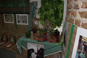 گزارش تصویری  برپایی نمایشگاه رشادت های رزمندگان