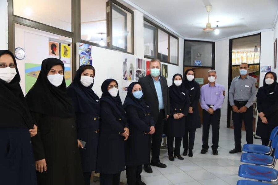 دیدار مدیرکل بهزیستی مازندران با کارکنان اداره بهزیستی شهرستان تنکابن