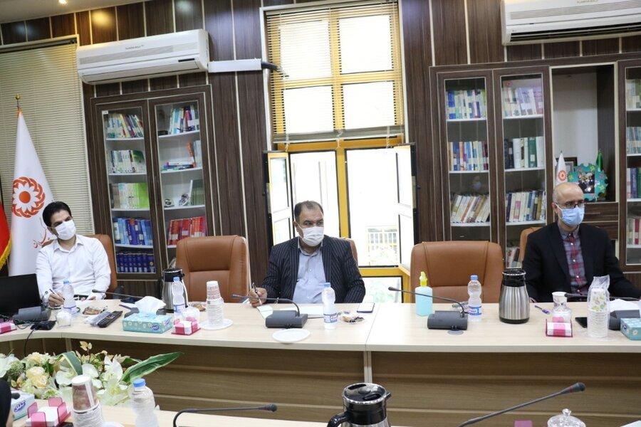 دومین نشست کمیته تخصصی ستاد هماهنگی و پیگیری مناسب سازی استان