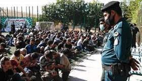 نگهداری ۴۸۴ نفر معتاد متجاهر در ۵ مرکز ماده ۱۶ کرمان