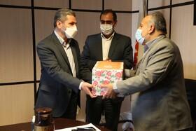 تودیع و معارفه ذیحساب بهزیستی کردستان برگزار شد