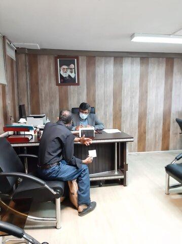 گزارش تصویری   ملاقات مردمی مدیرکل بهزیستی استان البرز