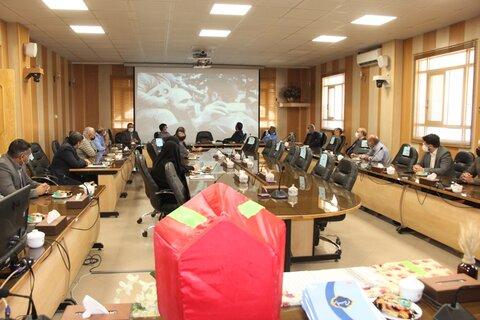 گزارش تصویری| آئین تجلیل و تکریم از همکاران پیشکسوت و رزمندگان ۸  سال دفاع مقدس