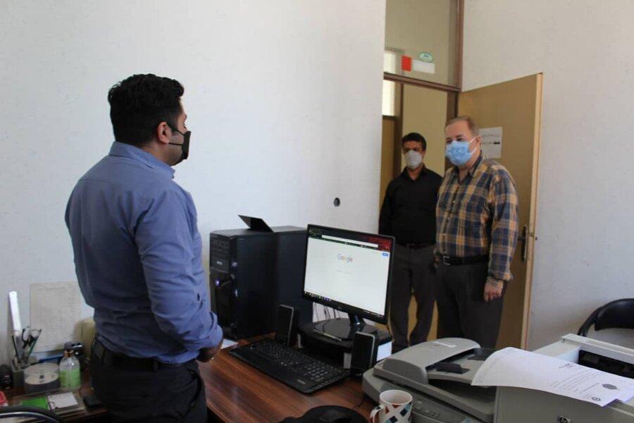 دیدار مدیرکل بهزیستی مازندران با کارکنان اداره بهزیستی شهرستان نور