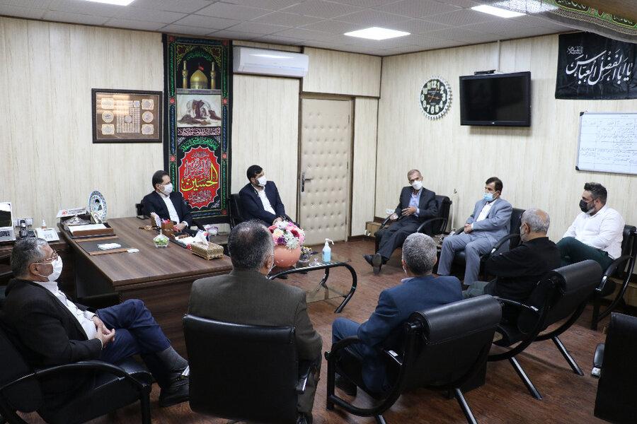دیدار نماینده مردم بندر انزلی در مجلس شورای اسلامی با مدیرکل بهزیستی استان گیلان