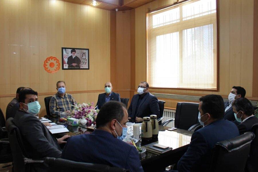 حضور مدیرکل بهزیستی مازندران در جلسه شورای رفاه شهرستان نور