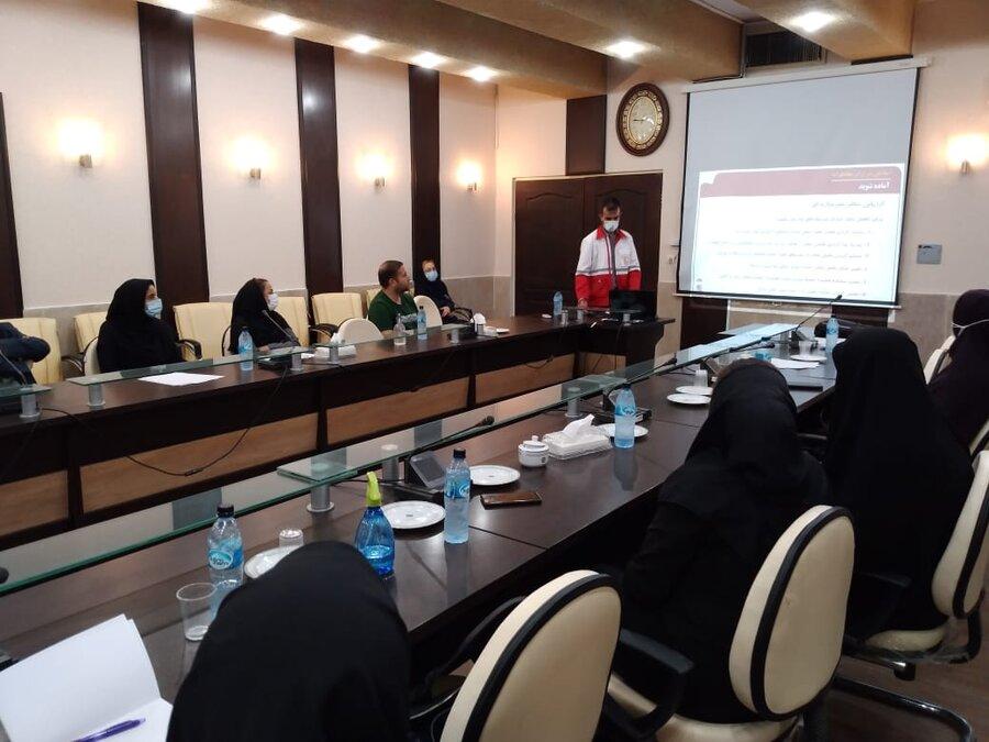 اسلامشهر| برگزاری کارگاه آموزشی پدافند غیر عامل