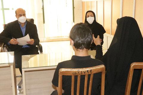 دیدار مددجویان بهزیستی با مدیر کل بهزیستی استان کرمان