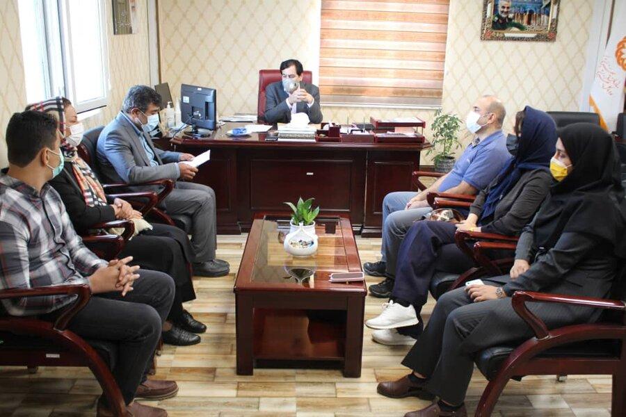 مدیرکل بهزیستی استان از برگزیدگان جشنواره ملی موسیقی افراد دارای معلولیت تقدیر کرد