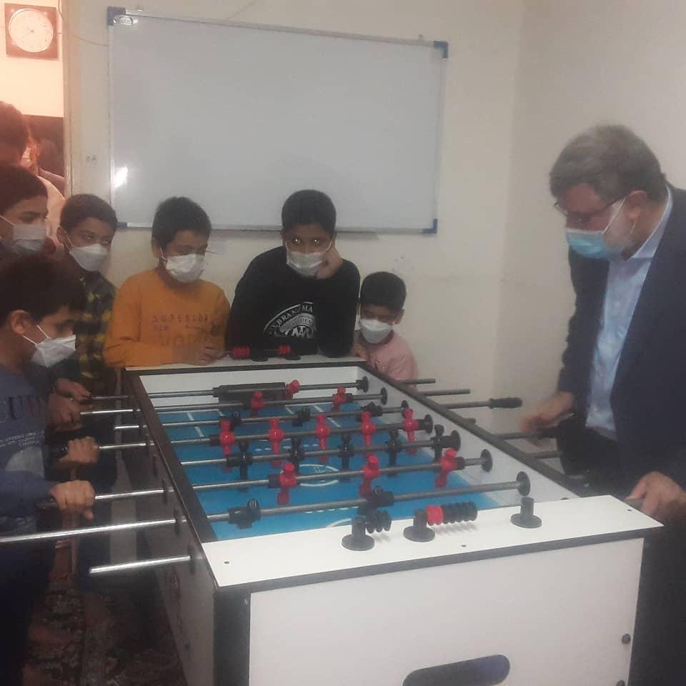 سفر یک روزه مدیرکل بهزیستی خراسان رضوی به شهرستان تایباد