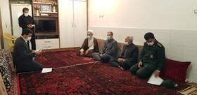 گزارش تصویری از دیدار مدیر کل بهزیستی با خانواده  شهدای دفاع مقدس